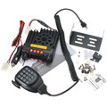 Двухканальный VHF136-174/UHF400-480MHz Мобильный Трансивер Автомобиля Двусторонней Радио Приемник