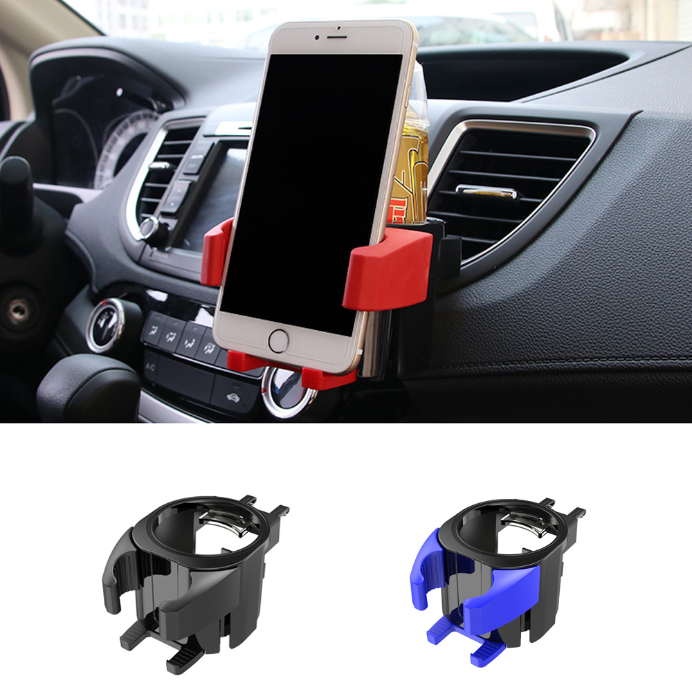 New car mobile phone holder car cup holder Air Condition drink holder Water bottle holder Multi functional storage rack-in Drinks Holders from Automobiles & Motorcycles