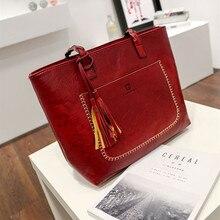 ZKW 2019 Women's Luxury Brand Designer Casual Handbag Female Fashion Tassel Bags Tetro Single Shoulder Bag Lady Bag