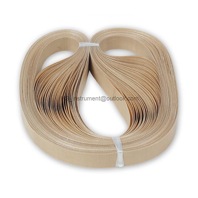 teflon belt for FR-900 FRD-1000 Continuous Band Sealer or FRD-1000 Solid ink band sealer 50pcs/lot 750*15mm электрогитара vox vss 1 frd red