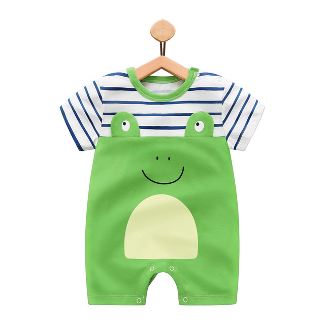 Baby Rompers Summer Style Penguin Baby Boy Clothes Newborn Boys