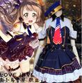 Anime Love live lovelive Kotori Minami Police woman cosplay costume lolita dress sailor party dress hat suit