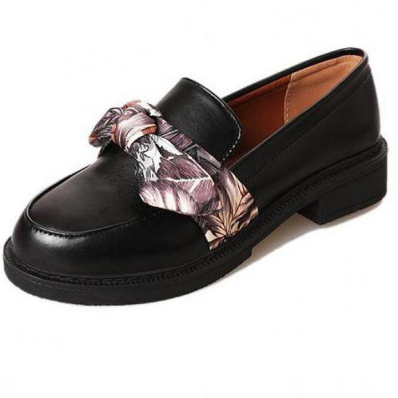 Fashion Flat Shoes Woman Casual Bow Black Oxford Driving Flats Comfortable Slip On Women Lazy Shoes British Style 2018 Hot Sale mnixuan british style woman shoes 2018