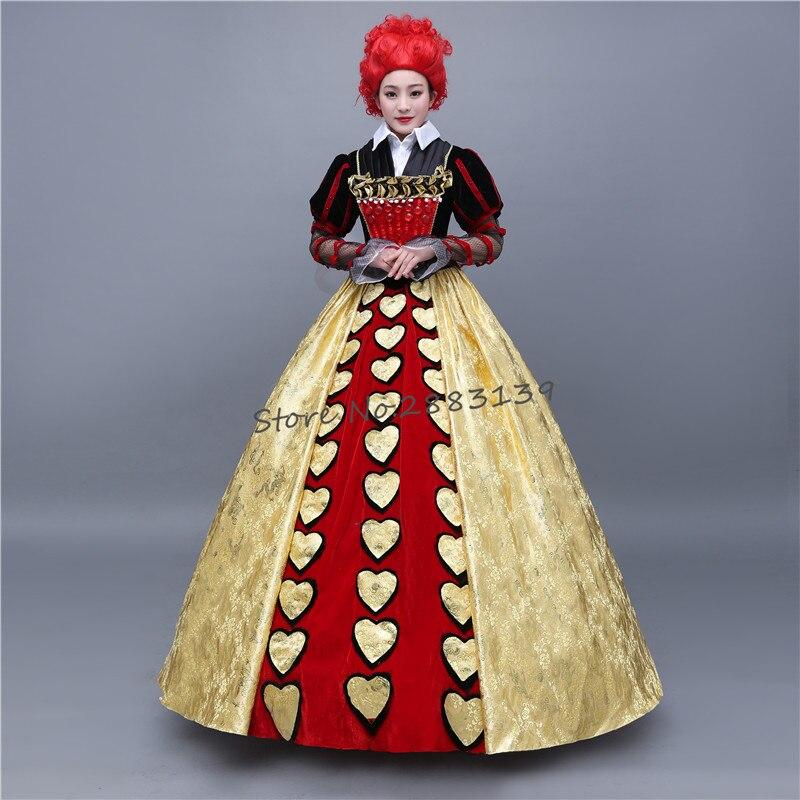 Alice in Wonderland Cosplay Costume vampire devil Queen of ...