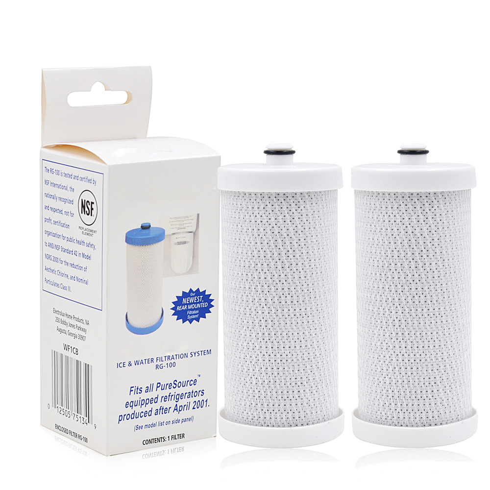 Water Purifier Filters Household Carbon Refrigerator Ice & Water Filter Replacement for Frigidaire PureSource WF1CB 2 Pcs/lot ice link carbon ставрополь
