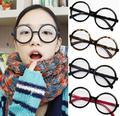 2016 fashion big glasses frame men and women retro vintage decorative frames without lenses round glass frame oculos de grau