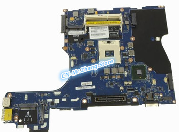 SHELI FOR Dell Latitude E6510 Laptop Motherboard WJ1RV 0WJ1RV CN-0WJ1RV LA-5571P DDR3 Test 100% good