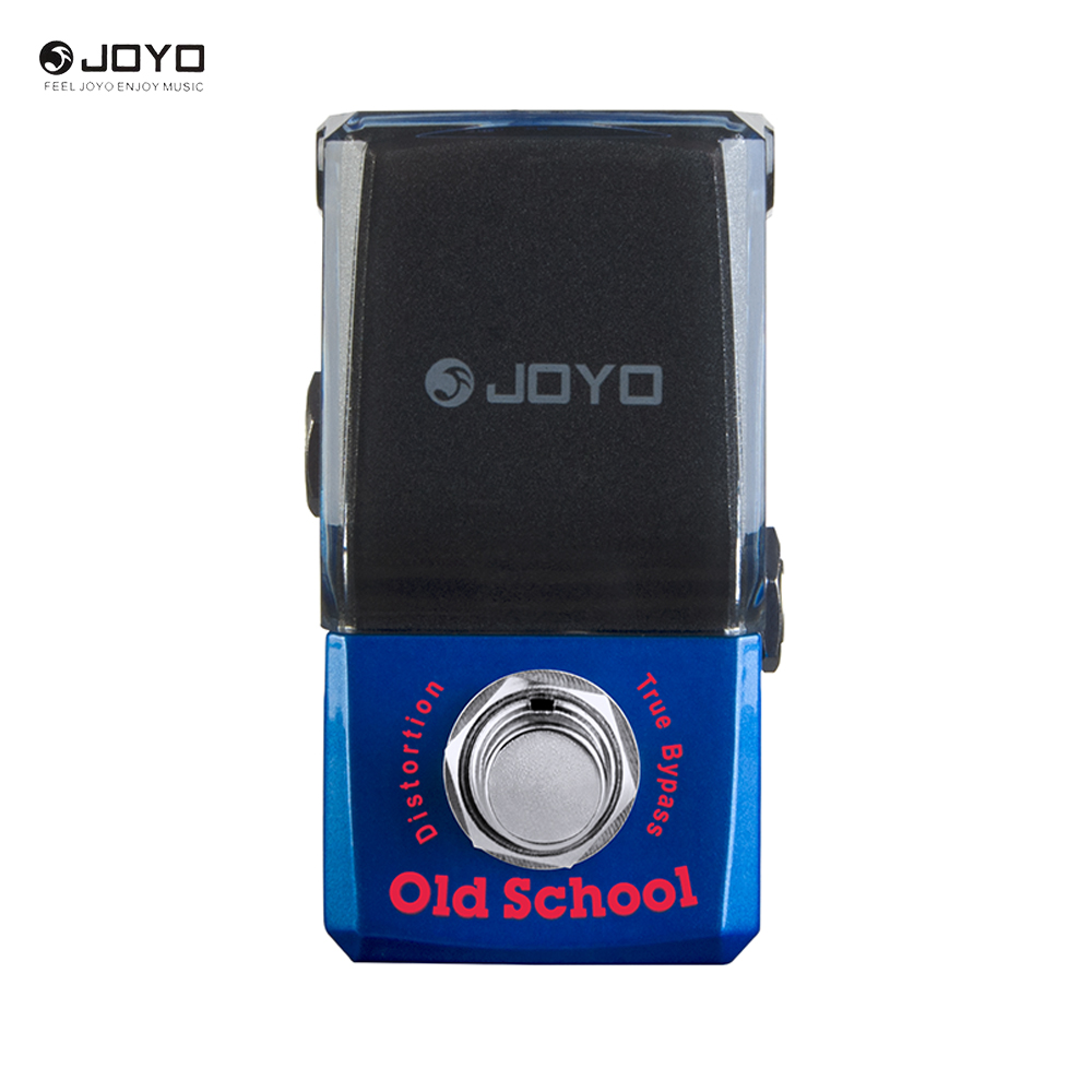 Joyo Ironman Series JF-313 Old School Distortion Electric Guitar Effect Pedal True Bypass joyo ironman orange juice amp simulator electric guitar effect pedal true bypass jf 310 with free 3m cable