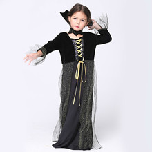 Children Queen Cosplay Costume Holiday Kids Performance Clothing Show Dress Halloween Costumes Girl Drama Role Playing Clothes kids cosplay star wars the force awakens imperial stormtrooper role playing costumes uniforms performance performance clothing