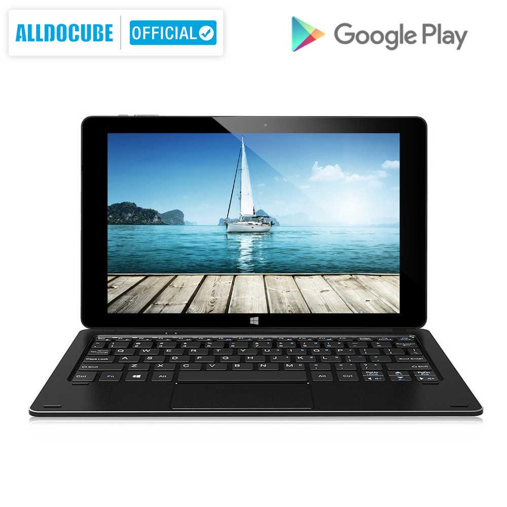 "Alldocube 10.1 ""Iwork10 Pro Windows10 + Android5.1 Intel Atom X5-Z8330 4 Gb Ram 64 Gb Rom Tablet Pc Hdmi dock Toetsenbord IPS1920 * 1200"
