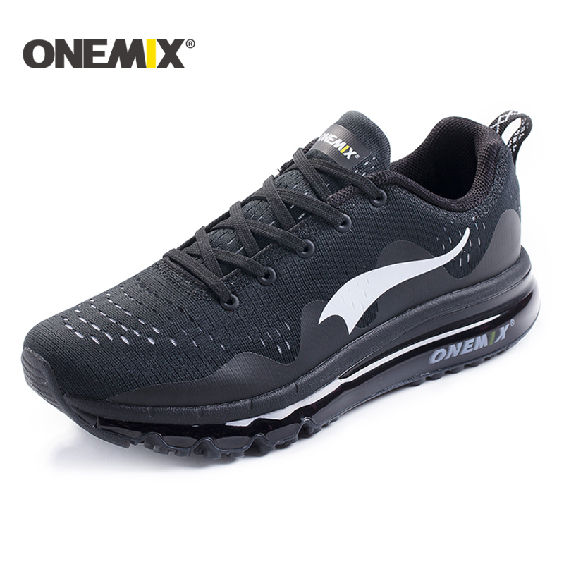 onemix New 2017 Air Sports Running Shoes men cushioning breathable Massage Sneakers for men sport shoes athletic outdoor woman dr eagle mens running shoes for outdoor comfortable red black fly for men sneakers air cushioning sport shoes woman size 35 44
