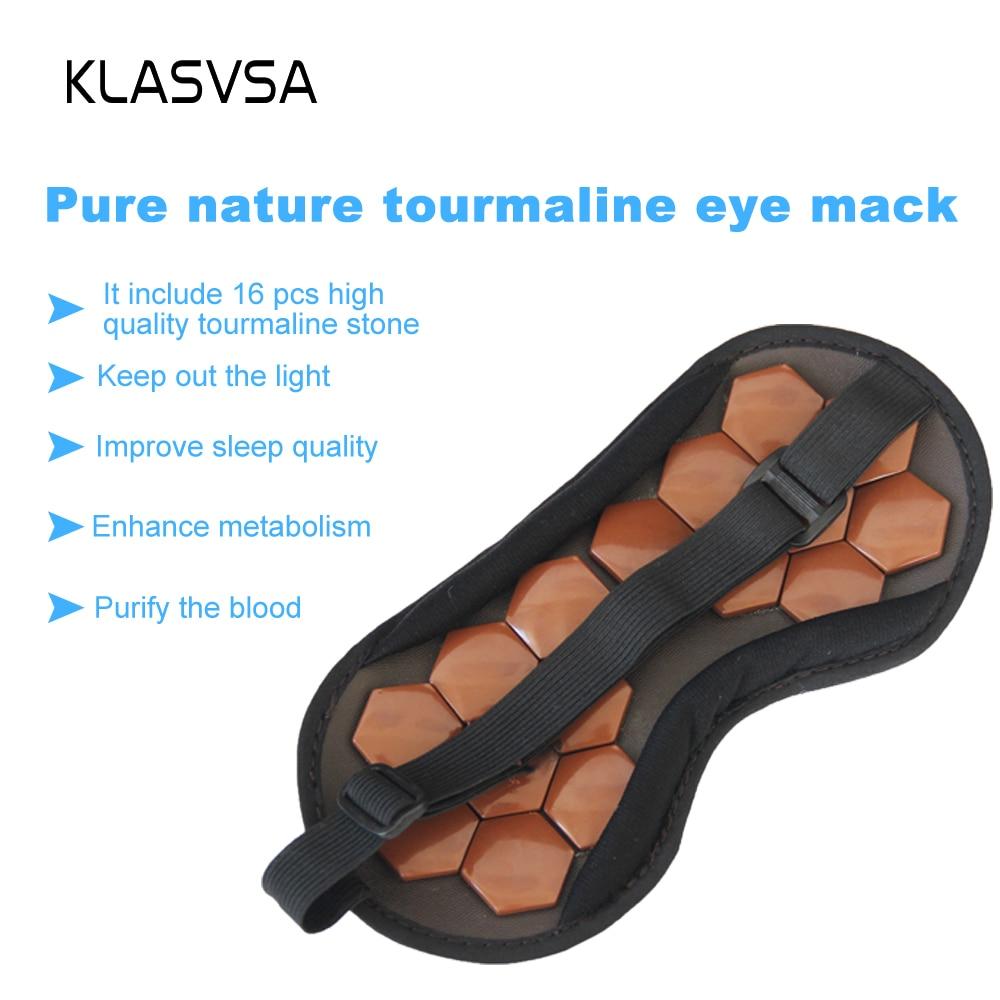 KLASVSA Tourmaline Therapy Sova ansikte ögonmaske Anti Stress Facial - Sjukvård - Foto 3
