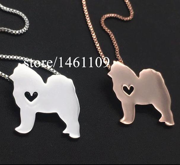 hot sale Dog heart shape Necklace animal Dog Jewelry Custom Animal Pendant Pet Jewelry Personalized Pets for mom lover wholesale