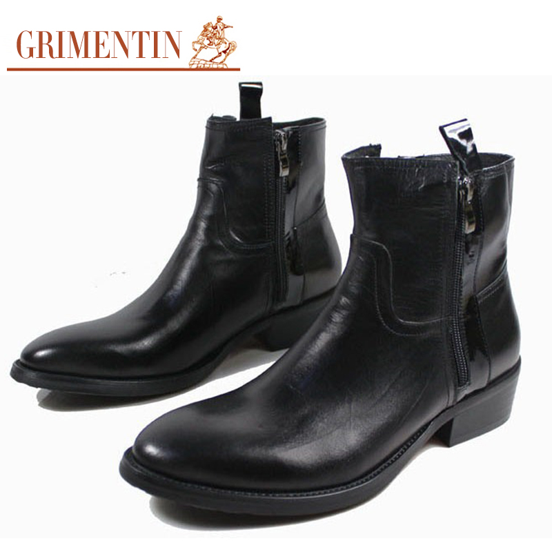 grimentin sale ankle boots zip genuine leather
