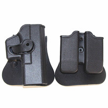 Tactical IMI Glock Holster Hunting Accessories 17 19 Right Hand Belt Loop Paddle Pistol With Magazine Clip Pouch