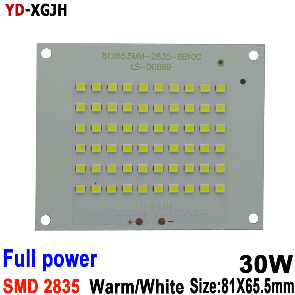 10PCS/Lot 30W 100% Full Power New Production SMD 2835 Led PCB Board For Lighting Source Led Floodlight
