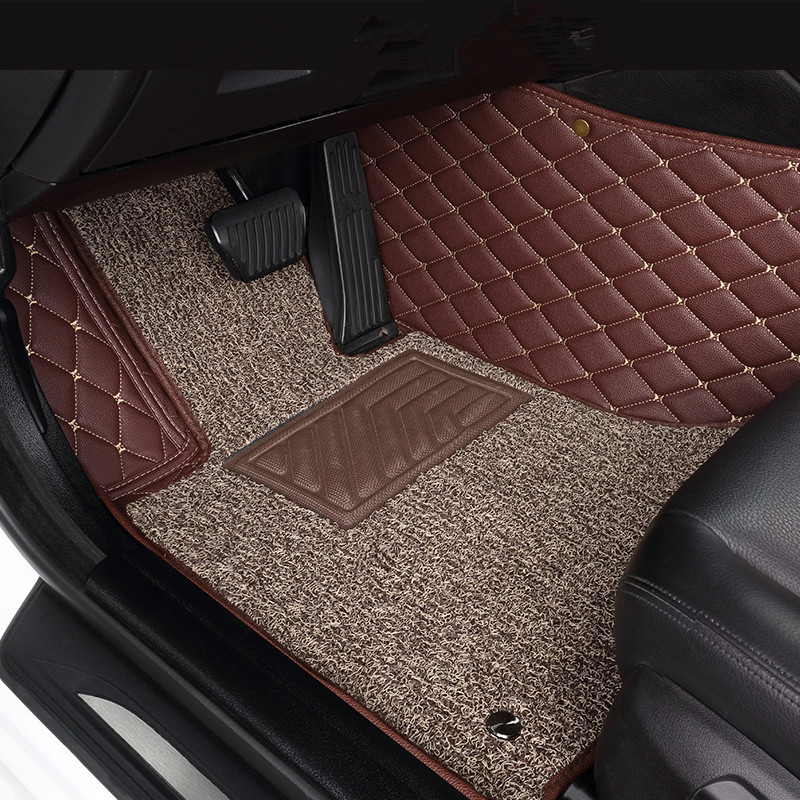Custom Car <font><b>floor</b></font> <font><b>mats</b></font> for <font><b>BMW</b></font> 3 5 7 Series E46 E39 E90 E60 E36 F30 F10 F20 <font><b>E30</b></font> E53 X1 X3 X4 X5 X6 G30 F10 F20 F30 F11 image