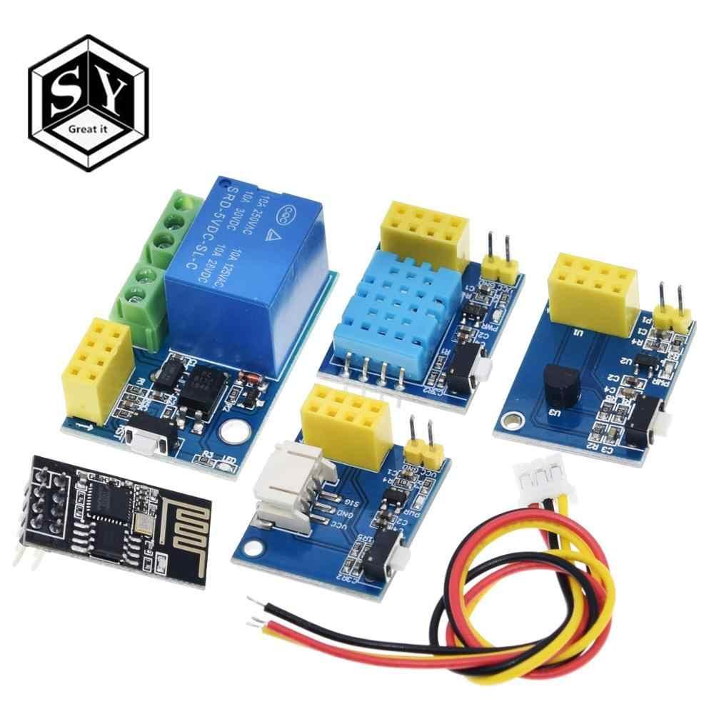 1 sztuk wielki to ESP8266 5V moduł przekaźnika wifi rzeczy inteligentny domowy zdalny przełącznik sterowania aplikacja na telefon ESP-01S moduł przekaźnika