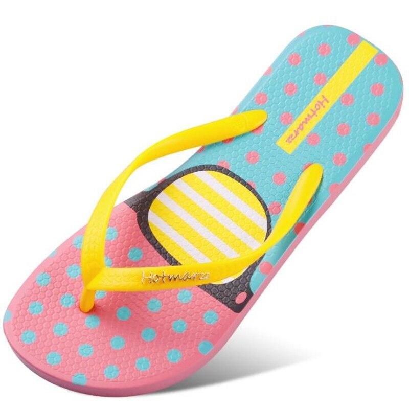 e731bc5a9c262 D été De Femme Lunettes Pantoufles Plage La À jaune Femmes Sandales Plat  Maison Nouvelles Chaussures ...
