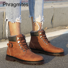Phragmites cow leather martin boots fashion buckle mens shoes European winter high quanlity erkek bot brand warm winter shoes mycolen the new listing autumn brand boots for stitching buckle tip scalp boots shoes luxury designers men boots erkek bot