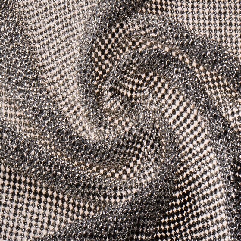 Полностью горный хрусталь Золотая и серебряная металлическая сетка ткань металлическая ткань блесток расшитая блестками ткань занавеска