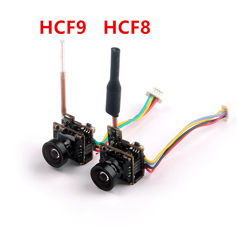 HCF8 HCF9 5.8G 48ch 25mw VTX Transmitter 700tvl Camera Integrated OSD NTSC for Happymodel Mantis85 Snapper7 FPV Drone hc48 upgraded hc25 vm275t 5 8g 25mw 48ch mini tiny 520tvl camera build in fpv transmitter antenna for indoor brushed racer drone
