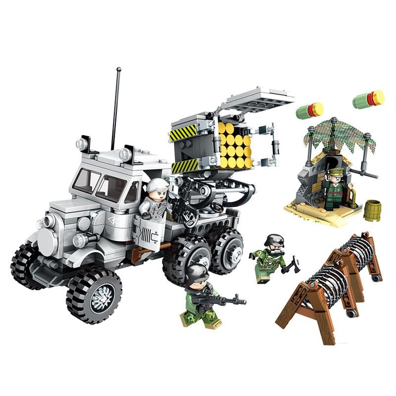 Army Tank Tank Crew NEW Building Bricks Blocks Mini figure toy set Compatible