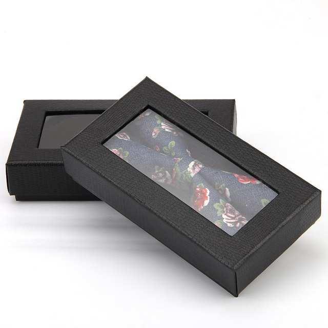 25162777fe48 200pcs Classic Black Crocodile Design Tie Box Bow Tie Necktie Tie Gift  Boxes Men's Tie Packaging Dispaly Storage Cases ZA6084