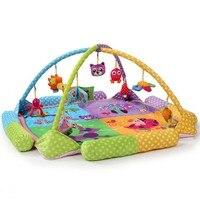 Детские Развивающие игрушки игровая деятельность тренажерный зал Одеяло мультфильм Животные мягкие детские игры Коврики indoor ребенка полз