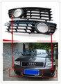 Envío de la alta calidad de plástico cubierta de la caja de luz antiniebla delantera accesorios del coche para 2002-2005 AUDI A4 B6