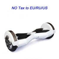 2 Wheel Hoverboard With Colored Lights Scooter 8 Inch Bluetooch Self Balancing Scooter Smart Electric Hoverboard