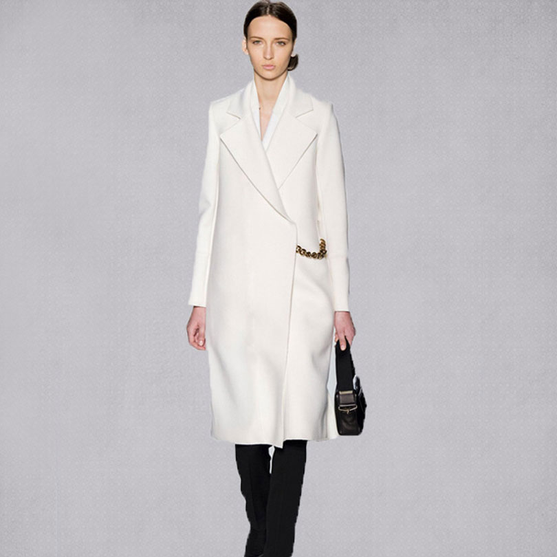 Popular White Coat Wool-Buy Cheap White Coat Wool lots from China ...