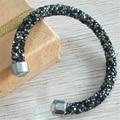 girl women gifts swarovski crystal stardust  bracelet bangle + free swan gift bag