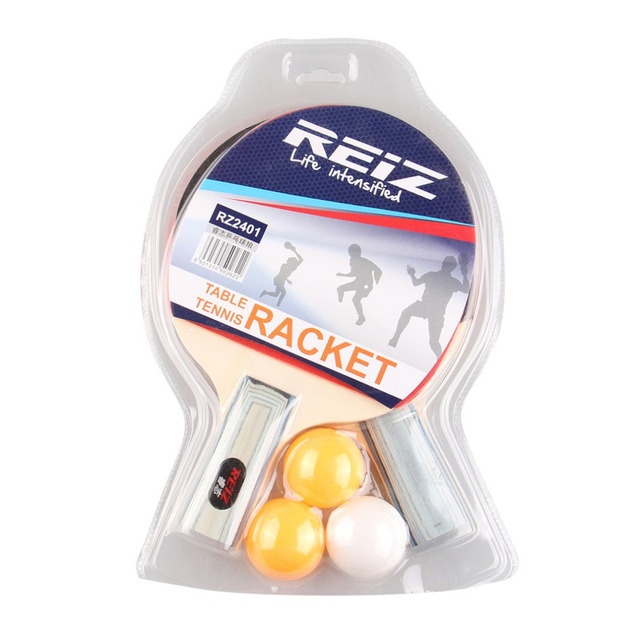 REIZ Ping Pong Table Tennis Racket Set Short Or Long Handle Shake-hand training  sc 1 st  AliExpress.com : ping pong table set - pezcame.com