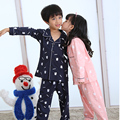 2017 Children's pajamas set Spring&Autumn long sleeve lovely cartoon baby clothing 100% cotton Boy's pajamas Children Sleepwear
