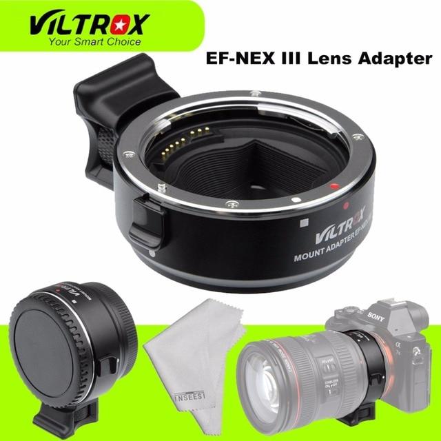 Enfoque Automático EF NEX Viltrox EF NEX III EF E Adaptador de ...