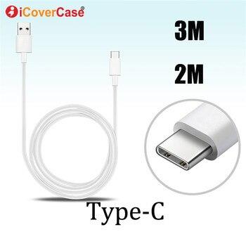 5 M 3 5 metros tipo C Cable para Samsung Galaxy A60 A70 A80 teléfono USB C cargador typecs línea de carga Cabo para Galaxy A 60 70 80 funda