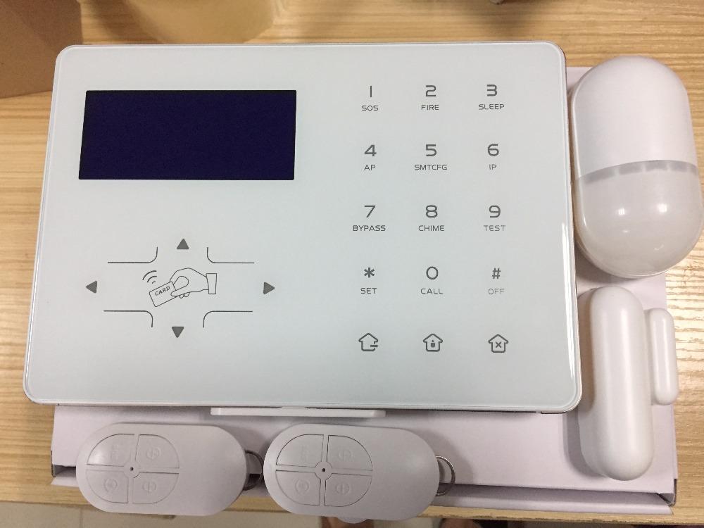 HTB1jWosbyERMeJjy0Fcq6A7opXaa - Most advanced Wifi Alarm GSM Smart Home Automation Burglar Alarm Wifi Alarm System with Touch Screen panel