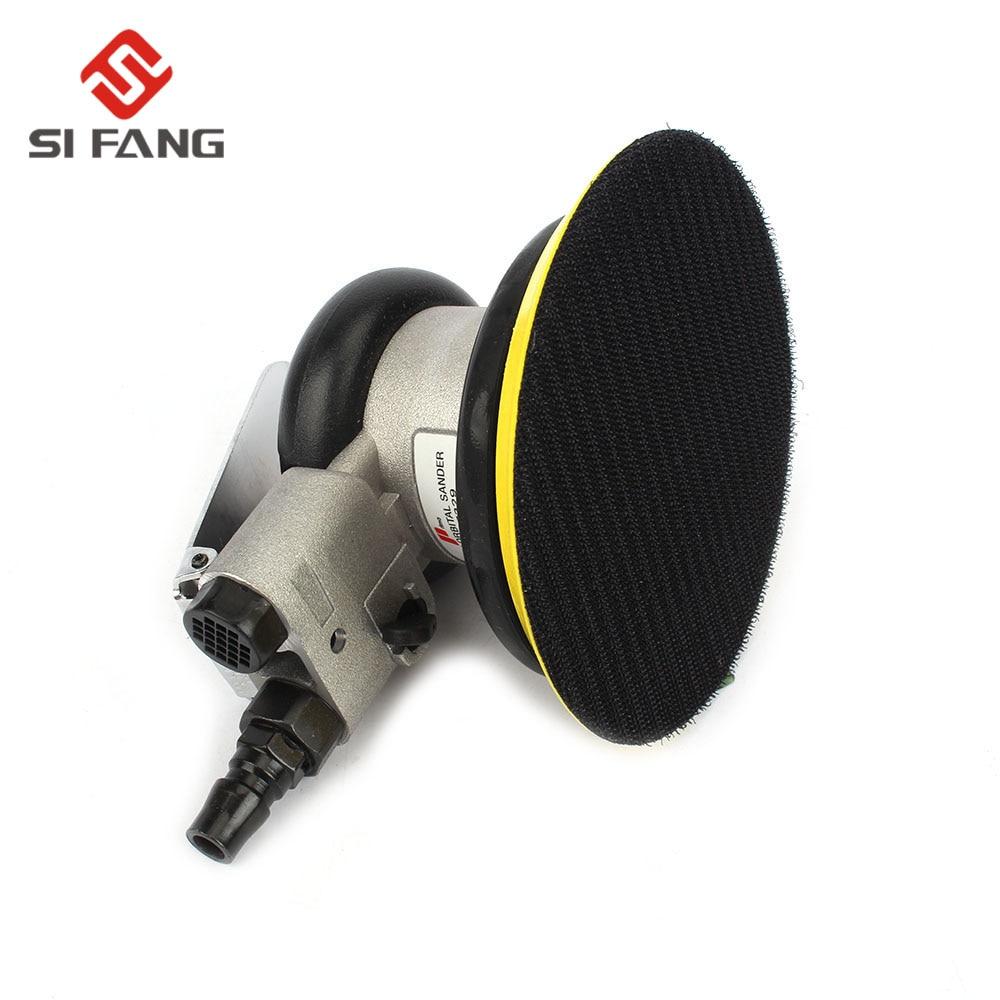 Pneumatic Non Matte 10000RMP Random Inch Vacuum Machine Sander Sandpaper 5 Air Surface 125mm Orbital Circular Grinding Polished