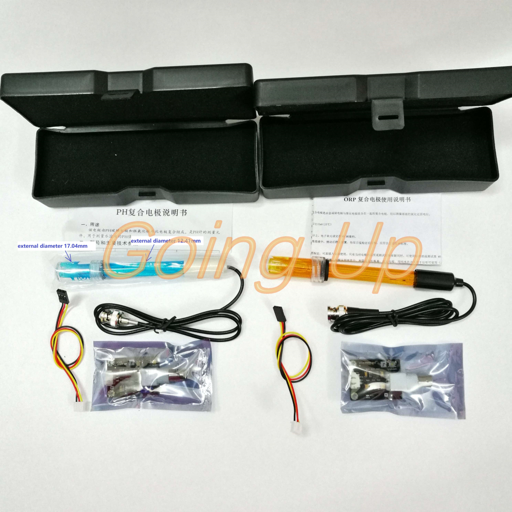 Open Source PH Sensor Analog Sensor + Arduino Analog ORP Meter Redox Potentiometer