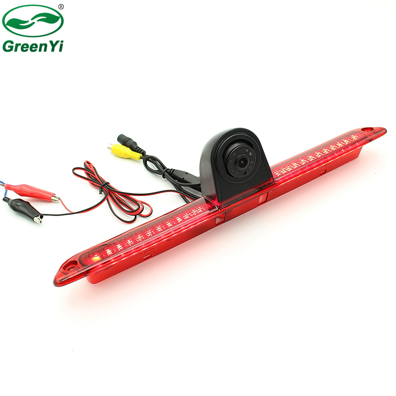 24 PCS LED Brake Light CCD Reverse Backup Rear View Camera For Mercedes Benz W906 Sprinter