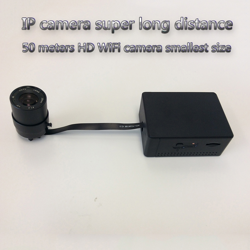 IP Camera Long Distance 50M HD Super Mini Camera  Realtime Recording