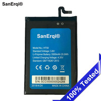 SanErqi 5500mAh HT50 Battery For Homtom Ht50 Smartphone