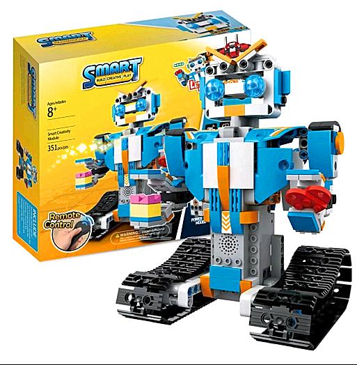 Technic RC Remote Control Intelligent Robot Robot BOOST Creative Technic Toolbox Assemble Blocks Bricks Toys For Boys