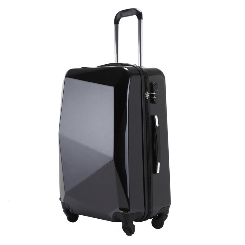 New Fashion ABS+PC Rolling Luggage Spinner Trolley 20 Inch Boarding Box 24 Inch Travel Bag Women Suitcase Card Student Trunk