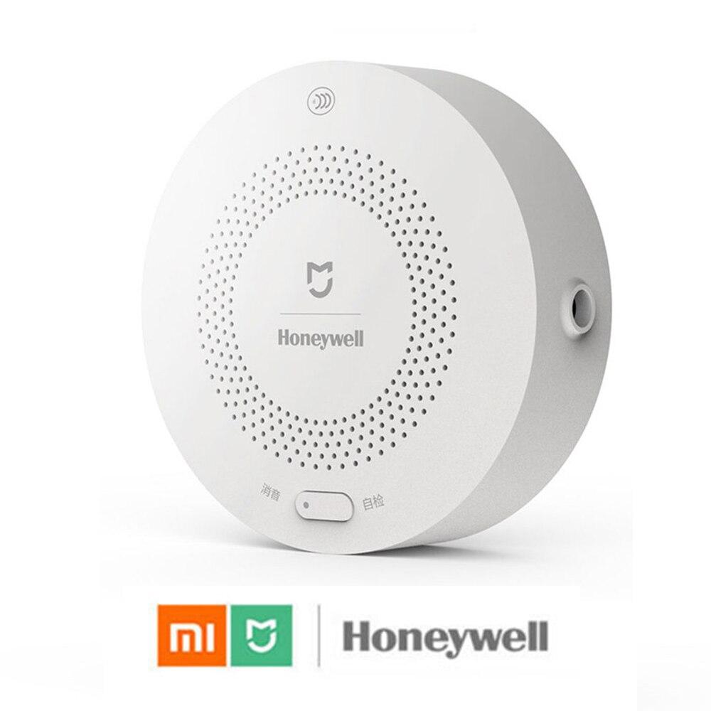 100% Xiaomi Mijia Honeywell Smart ДЕТЕКТОР ГАЗОВОЙ СИГНАЛИЗАЦИИ CH4 газового контроля потолка и настенные Mihome приложение Remote Управление