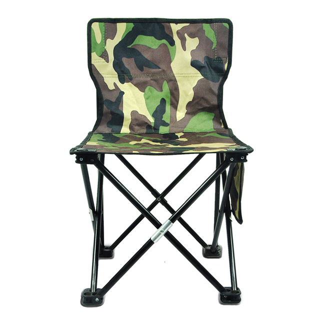 Pleasant Us 29 41 50 Off Camouflage Portable Folding Camping Chair Hiking Beach Garden Outdoor Fishing Travel Have A Backrest 600D Oxford Cloth Sale In Pdpeps Interior Chair Design Pdpepsorg