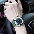 2016 New Fashion Men Watches Silicone Band Men's Quartz Calendar Hour Clock Analog Digital LED Watch Sports Military Wrist Watch
