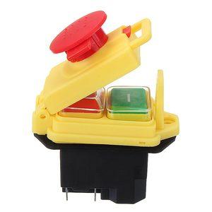 Image 4 - Kedu kjd17 gf start stop switch nvr (2hp/16a) & parada de emergência magnética impermeável 4 pinos sem interruptor de botão de liberação de volts
