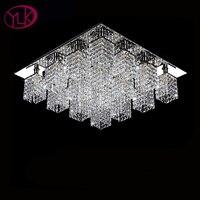 Free Shippingmodern Crystal Ceiling Light Living Room 16 LIGHTS Lustre Para Sala Chandelier Ceiling Lamp Guaranteed